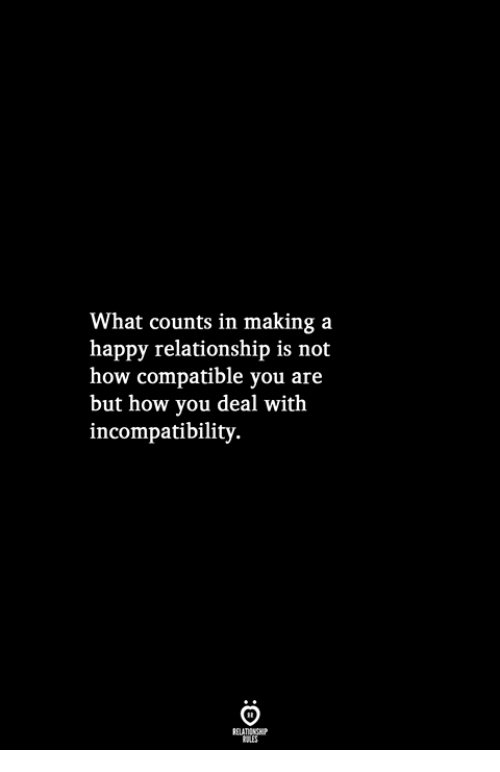 what counts as a relationship