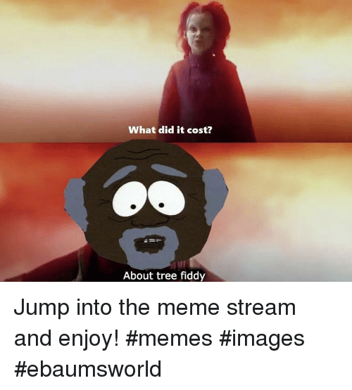 Ebaumsworld, Meme, and Memes: What did it cost?  About tree fiddy Jump into the meme stream and enjoy! #memes #images #ebaumsworld