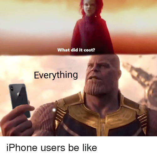 Be Like Iphone And Did What It Cost Everything