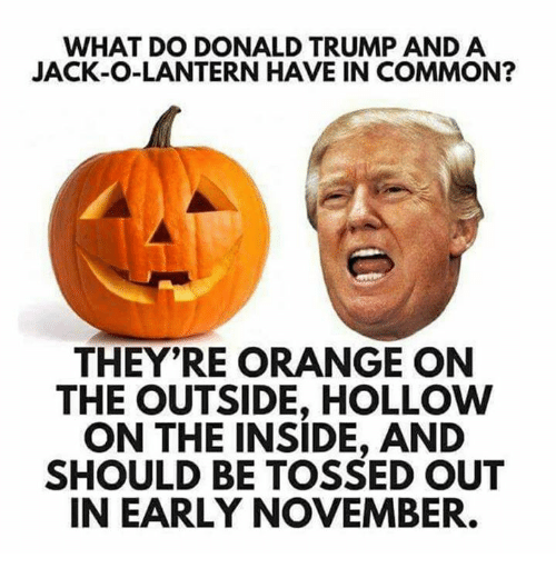 what-do-donald-trump-and-a-jack-o-lanter