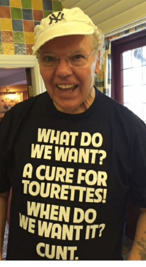 We want cunt