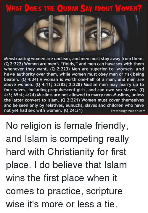 what does the koran say about christianity