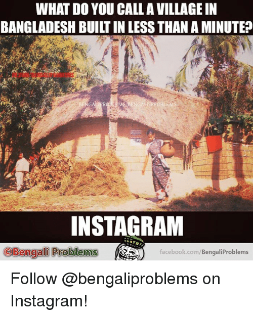 WHAT DOYOU CALLA VILLAGE IN BANGLADESH BUILT IN LESS THAN