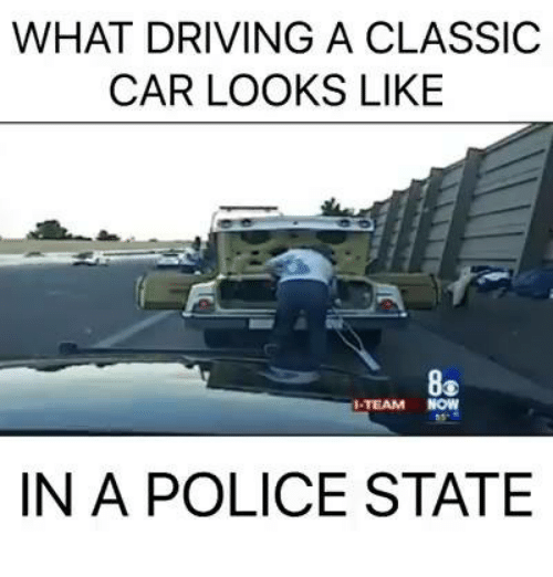 Best Memes About Classic Cars Classic Cars Memes