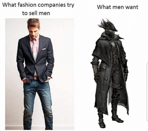 Fashion, Memes, and 🤖: What fashion companies try  What men want  to sell men