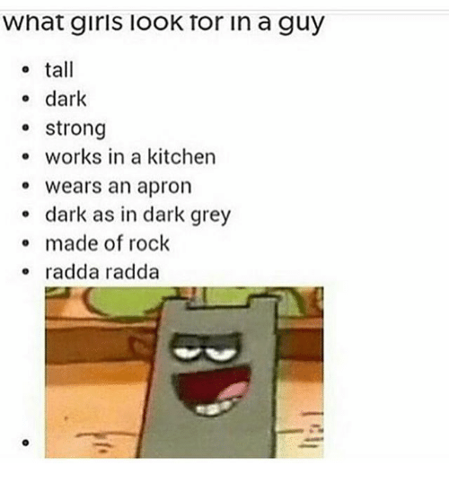 What Girls Look For In Guys
