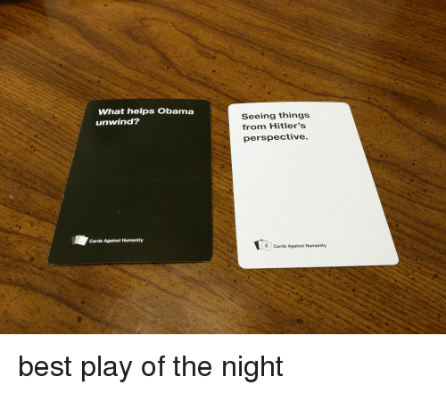Speed dating cards against humanity