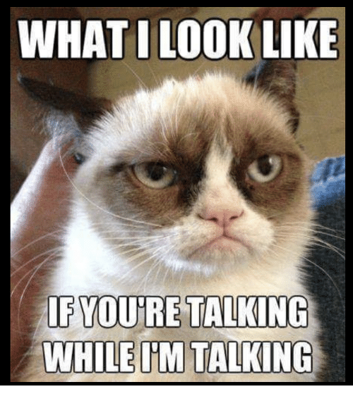 Re about talking you what 'You do