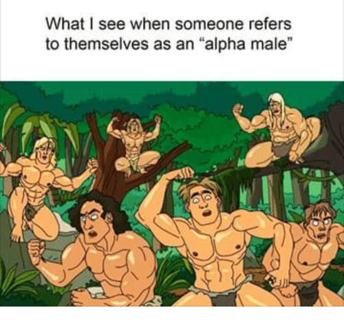 "Alpha, Alpha Male, and What: What I see when someone refers  to themselves as an ""alpha male"""
