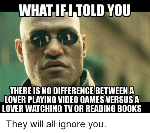 WHAT IF I TOLD YOU THERE IS NO DIFFERENCE BETWEEN a LOVER