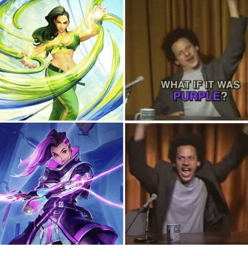 What If It Was Purple