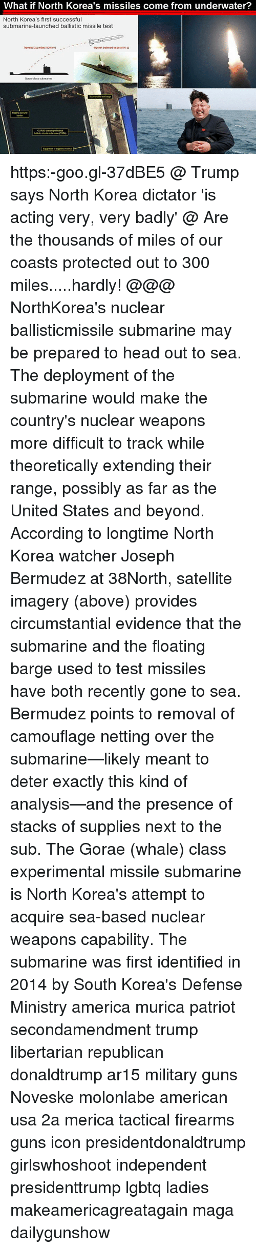 Memes And Usa What If North Korea S Missiles Come From Underwater