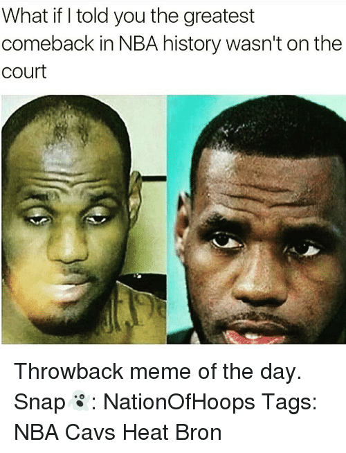 what if told you the greatest comeback in nba history wasn t on the