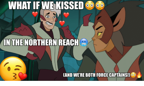 Force, Reach, and What: WHAT IF WE KISSED  a  IN THE NORTHERN REACH  AND WERE BOTH FORCE CAPTAINS!
