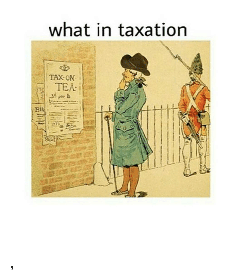 what in taxation bil sale meme on