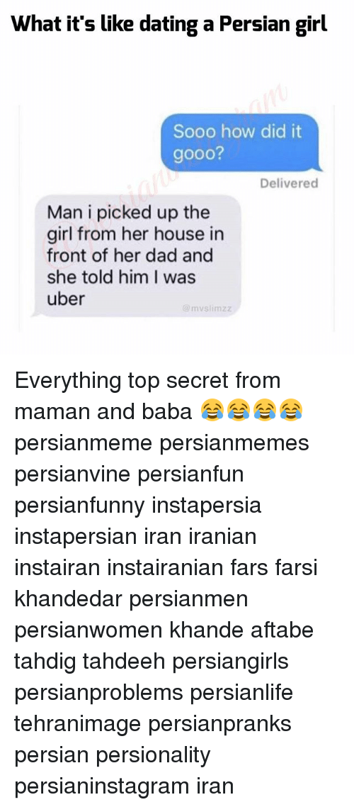 Dating a persian girl