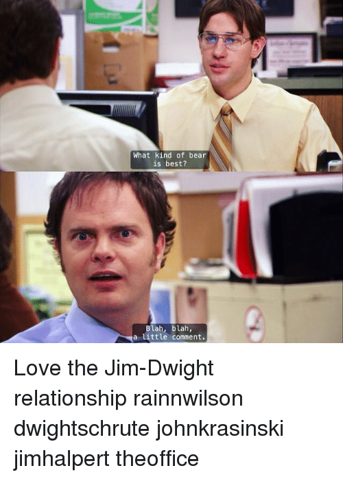 jim and dwight relationship quiz