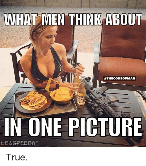 what a guy really thinks