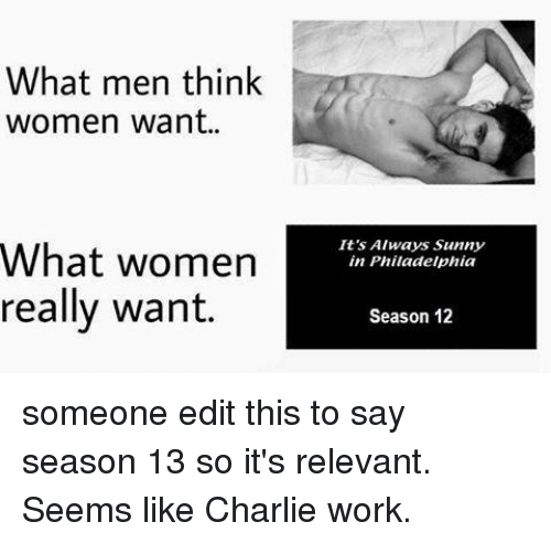 what men and women want