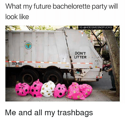 Future Party And Bachelorette What My Will Look Like IG