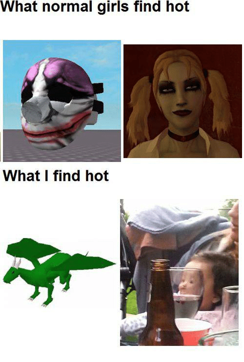 What girls find hot