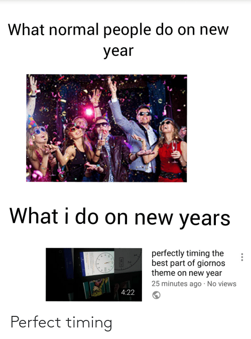 What Normal People Do On New Year What I Do On New Years Perfectly