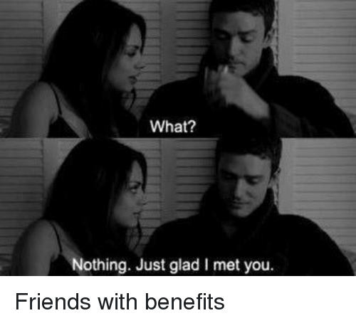 Black friends with benefits