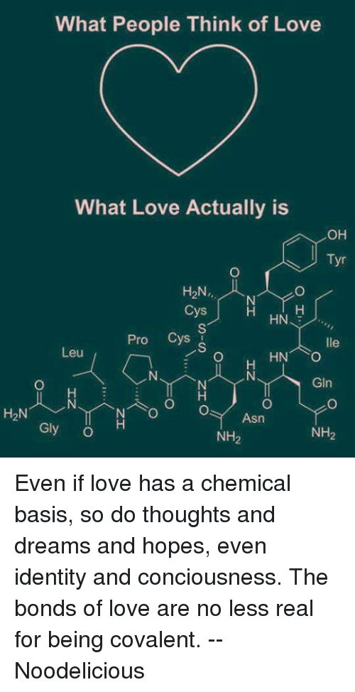 chemical bases of love