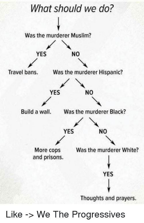 What Should We Do Was the Murderer Muslim YES NO Travel Bans Was
