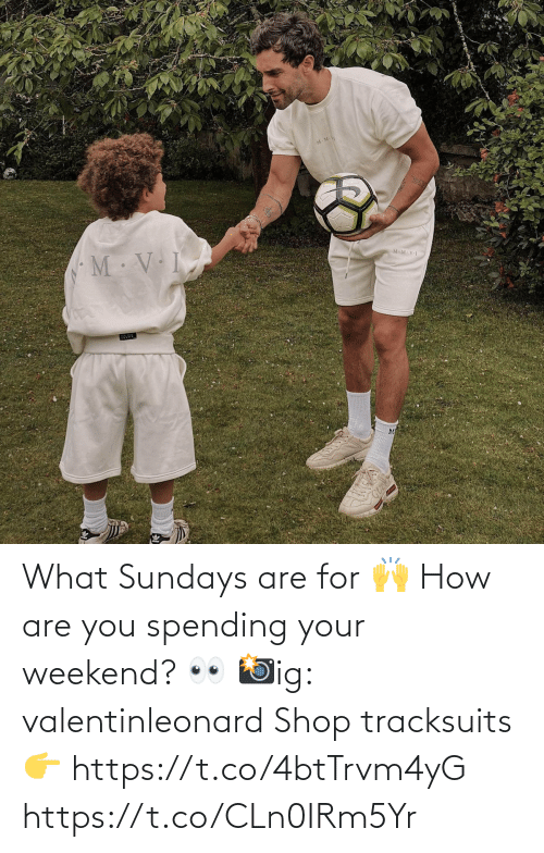 Memes, 🤖, and How: What Sundays are for 🙌  How are you spending your weekend? 👀  📸ig: valentinleonard  Shop tracksuits 👉 https://t.co/4btTrvm4yG https://t.co/CLn0IRm5Yr