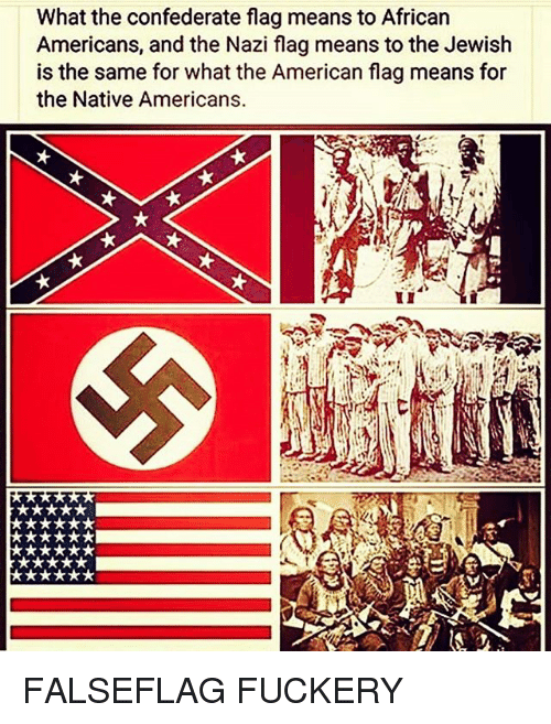 What the Confederate Flag Means to African Americans and the Nazi