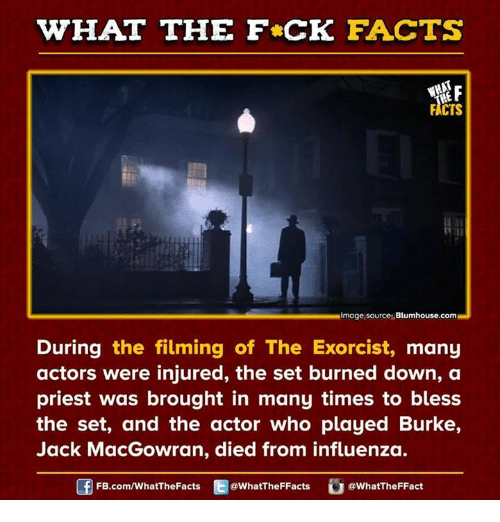 WHAT THE FCK FACTS FICTS Image Source Blumhousecom During