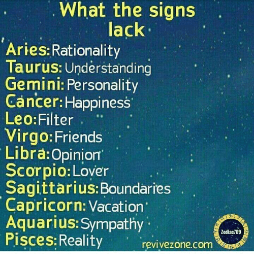 Libra sign personality