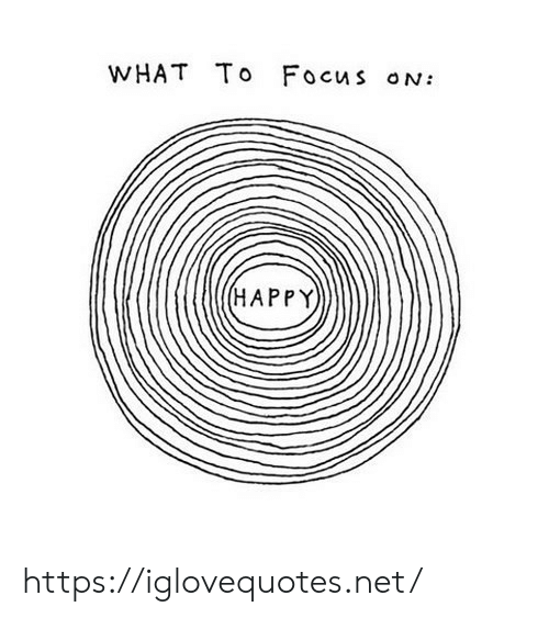 Focus, Happy, and Net: WHAT To Focus ON:  (HAPPY https://iglovequotes.net/