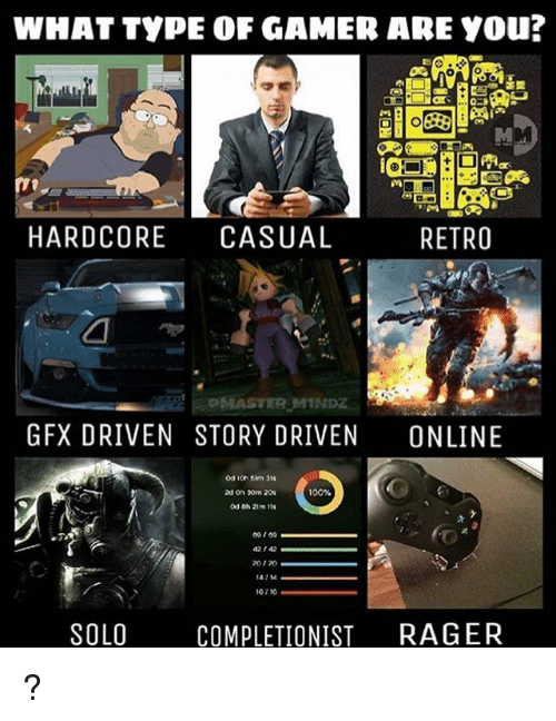 what type of gamer are you ai hardcore casual retro 13150920 ✅ 25 best memes about types of gamers types of gamers memes