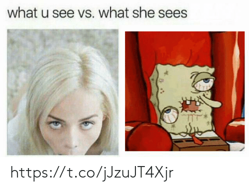 What U, She, and What: what u see vs. what she sees https://t.co/jJzuJT4Xjr