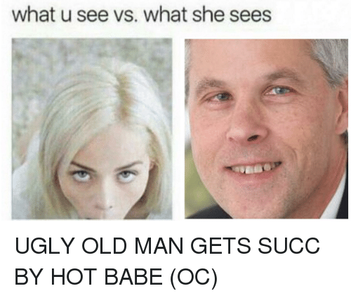 ugly old man