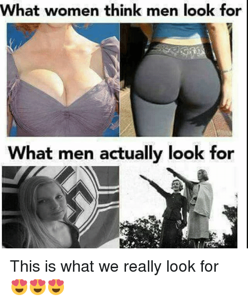 what are men looking for