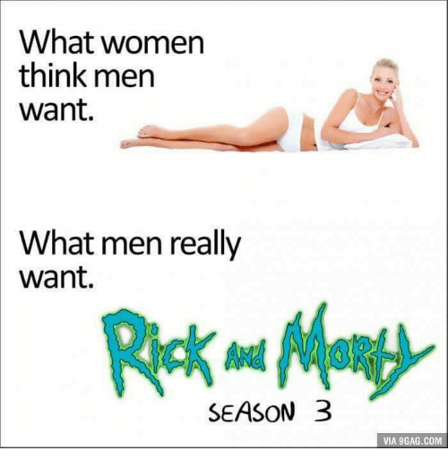 What men really want in a woman