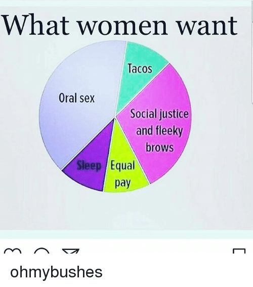 What women want with sex