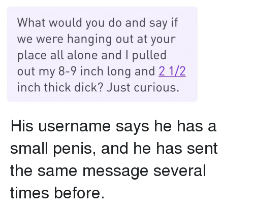 2 Inch Thick Dick
