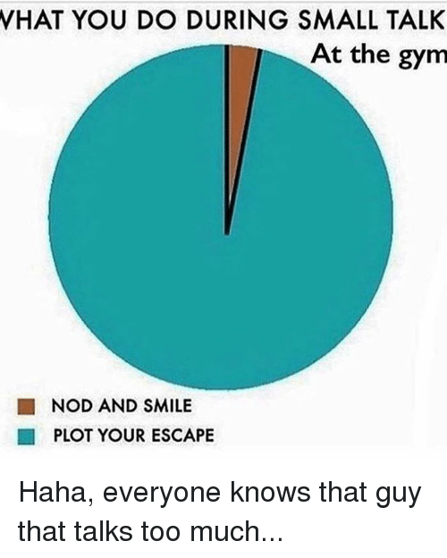 how to small talk with guys