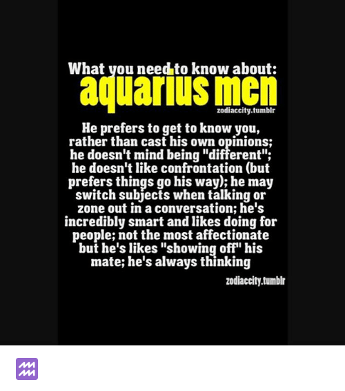 aquarius male horoscope