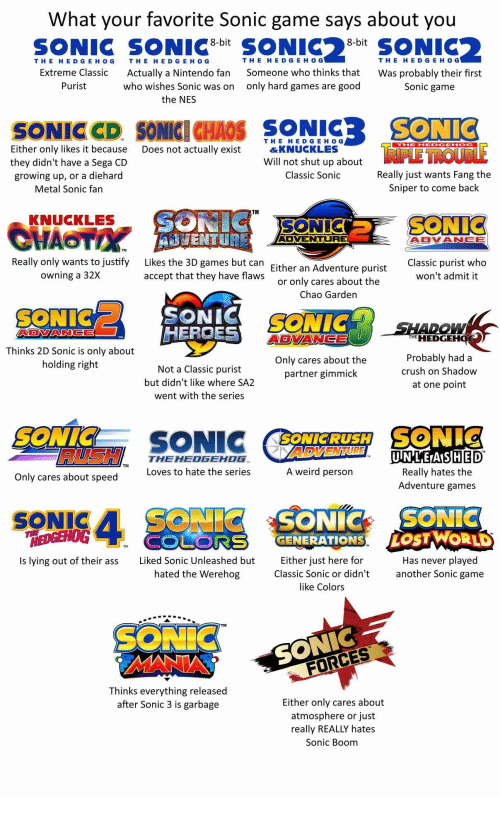 25+ Best Memes About Sonic Unleashed