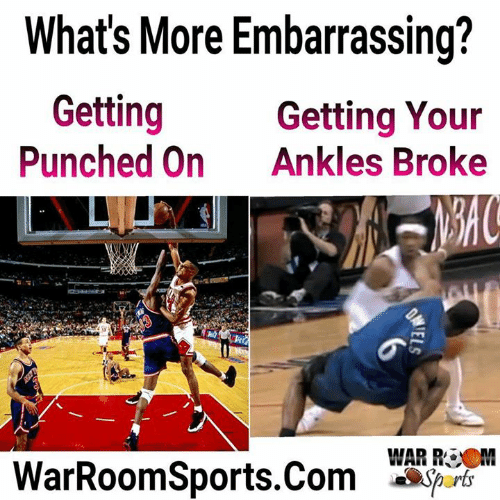 a92e2469b293 What s More Embarrassing  Getting Punched on Getting Your Ankles ...