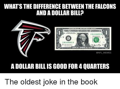 whats thedifferencebetween the falcons and a dollar bill thie united states 15778969 whats thedifferencebetween the falcons and a dollar bill