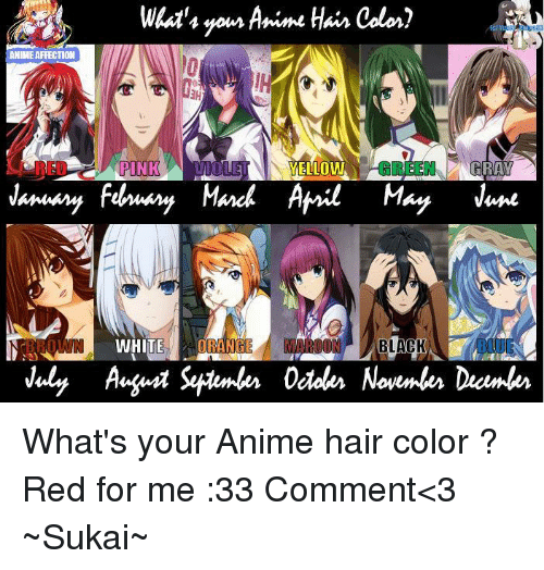 Animals Memes And Animal Whats Yom Anime HAir Color ANIMEAFFECTION YELLOW WHITE