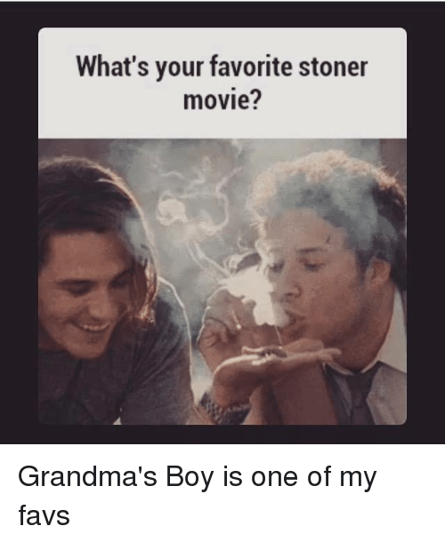 grandmas boy movie poster