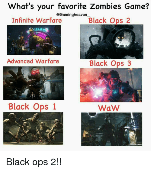whats your favorite zombies game cgamingheaven infinite warfare black ops 13305368 what's your favorite zombies game? cgamingheaven infinite warfare