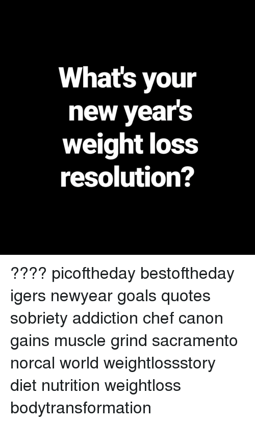 Whats Your New Years Weight Loss Resolution Picoftheday
